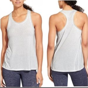 Athleta gray Essence Racerback Tank Top